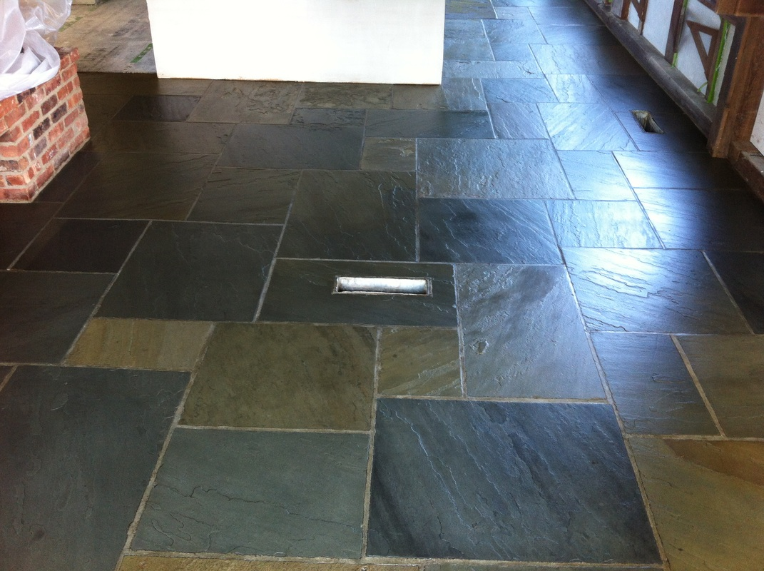 Brazilian slate floor tile