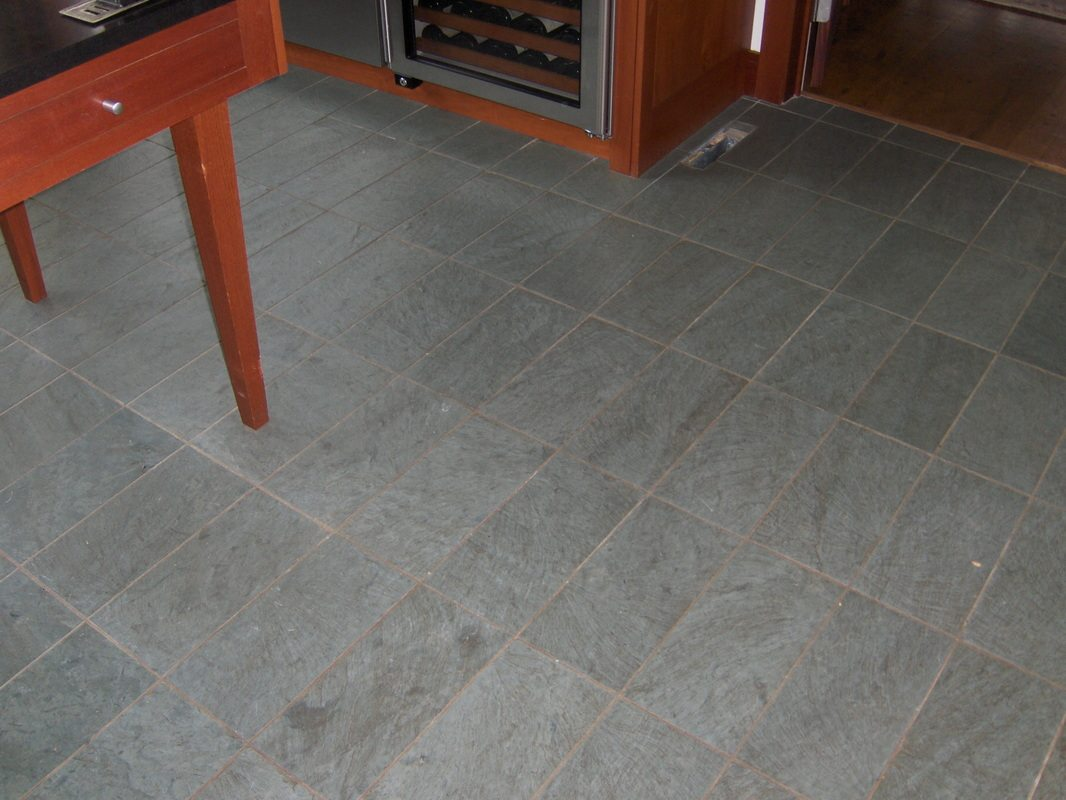 Cleaning Slate Floors