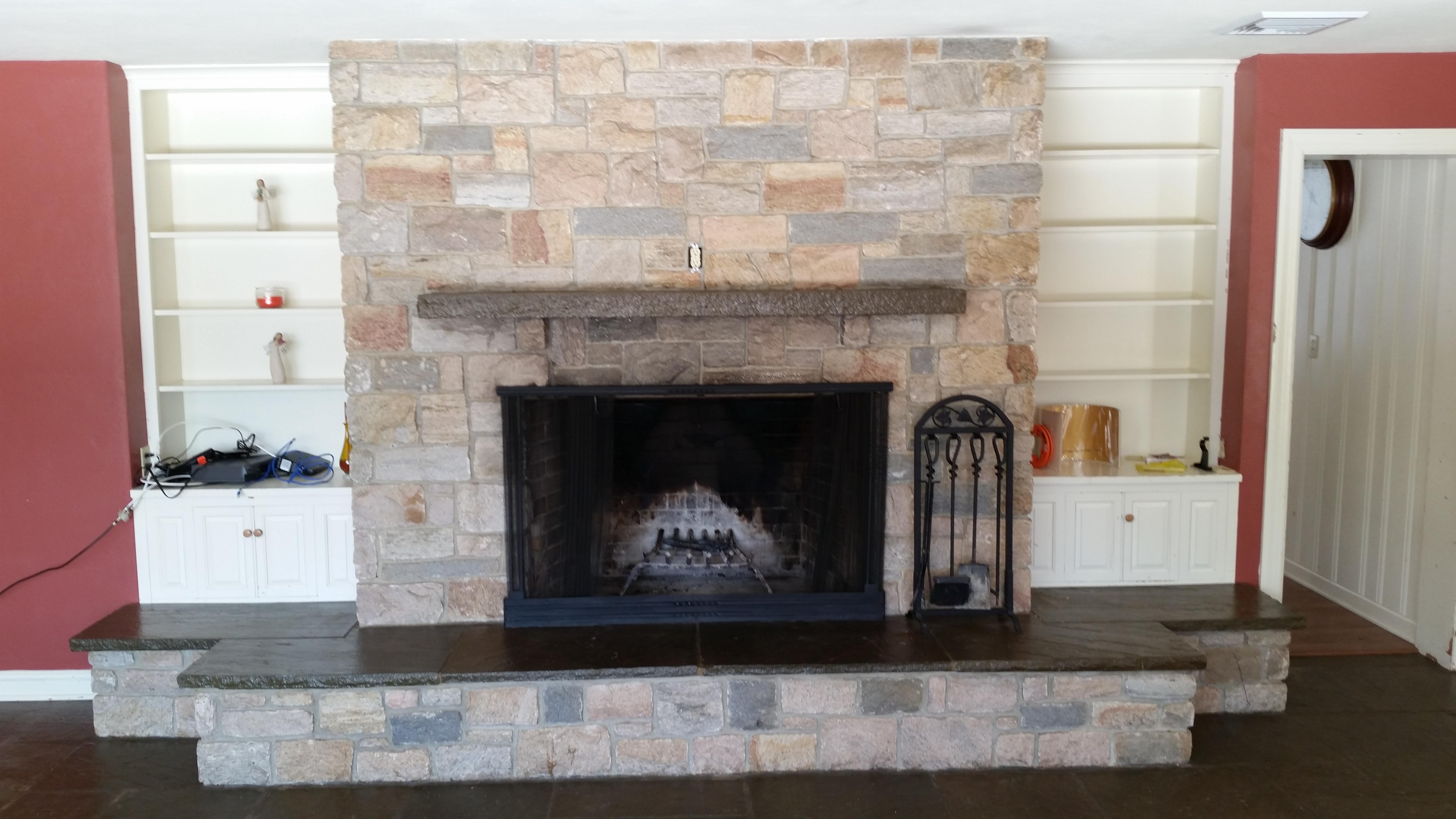 Slate Fireplace Restoration Fireplaces